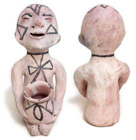 Southwest Indian Pottery Tesuque Pueblo Figurines