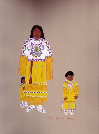 Kiowa Indian Art Portfolio By Lois Smoky Fine Art
