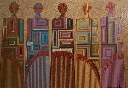 Fine Art | Native American Paintings | Contemporary Native American | Native American Artwork ...