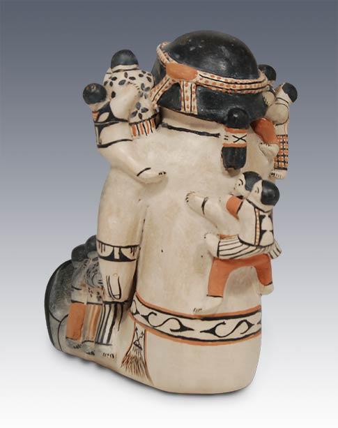 Southwest Indian Pottery Cochiti Pueblo Storyteller