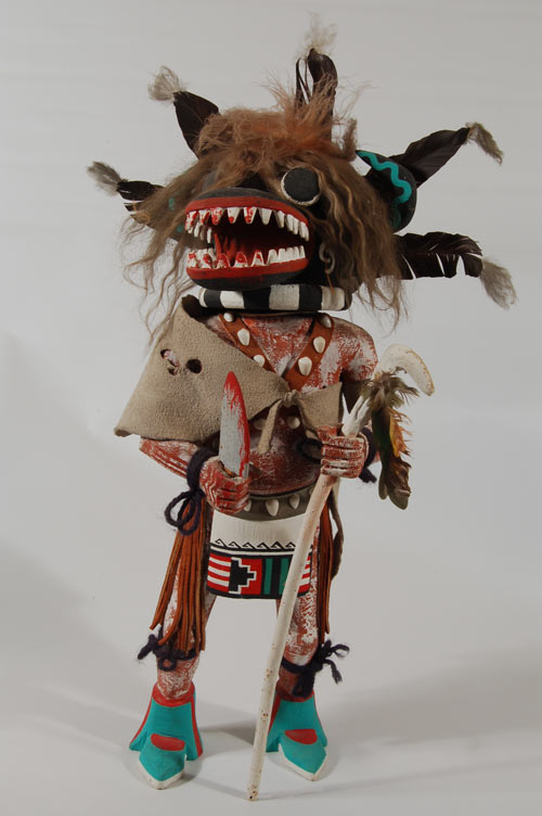Hopi Nataska Ogre Katsina Doll By Emil Pooley Kachina
