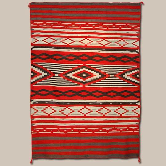 Navajo Textile 24162 Adobe Gallery Santa Fe