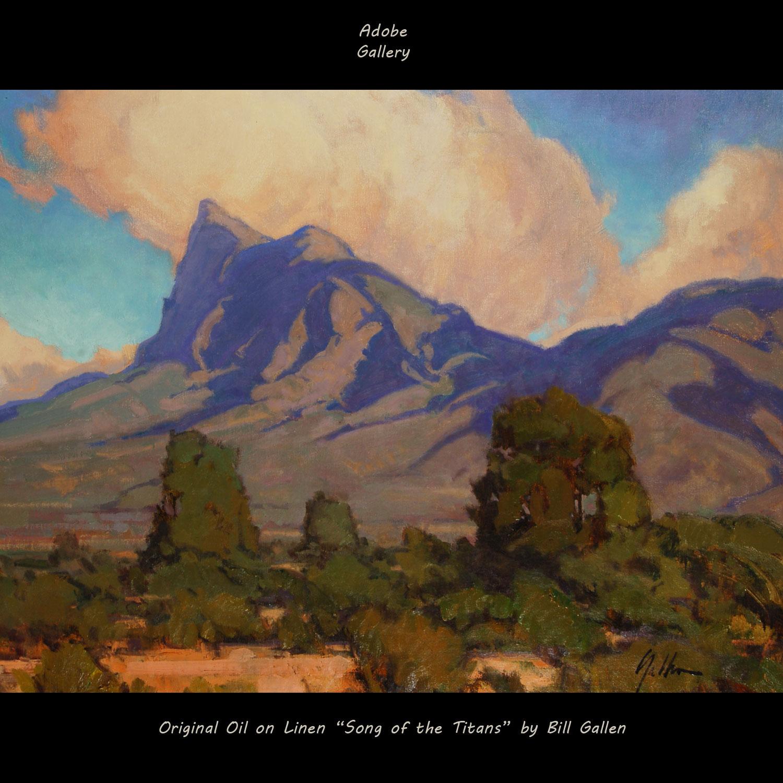 Bill Gallen Painting 25359 Adobe Gallery Santa Fe