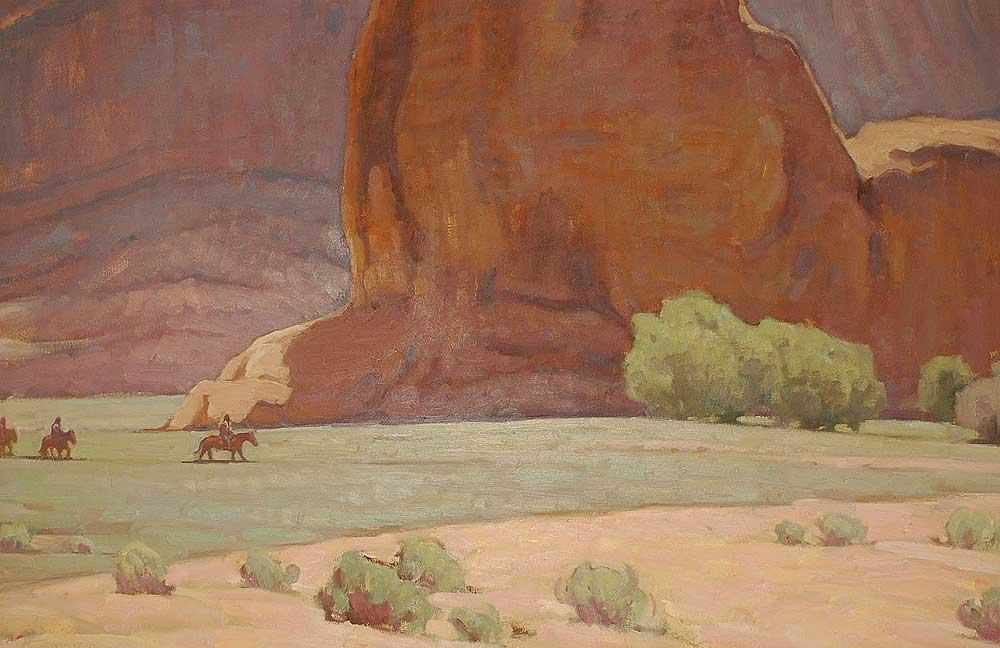 Glenn Dean Painting 25180 Adobe Gallery Santa Fe