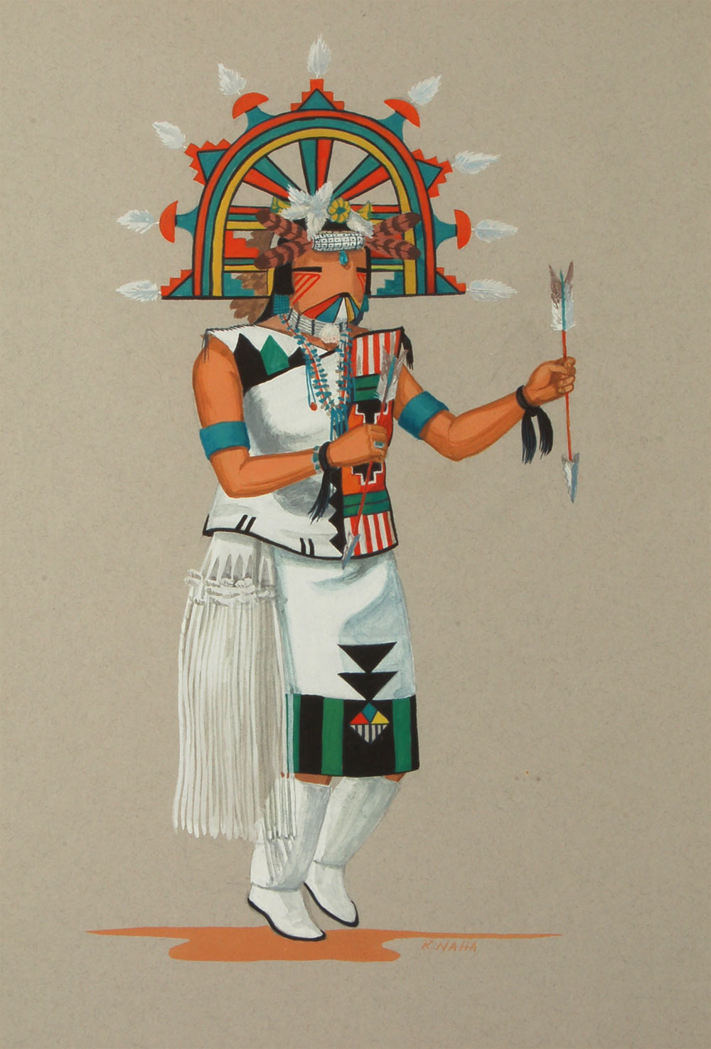 Fine Art Native American Paintings Native American
