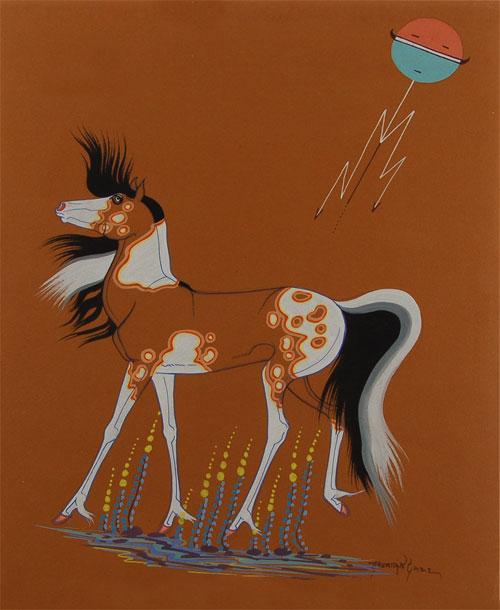 Fine Art | Native American Paintings | Native American Artwork | Diné | Navajo Nation | Beatien ...
