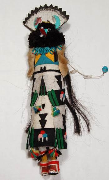 Kachina Katsina Dolls Zuni Pueblo Traditional Zuni