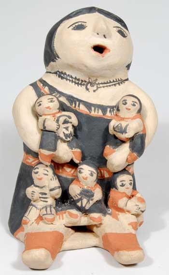 Female Storyteller Figurine By Felecita Eustace