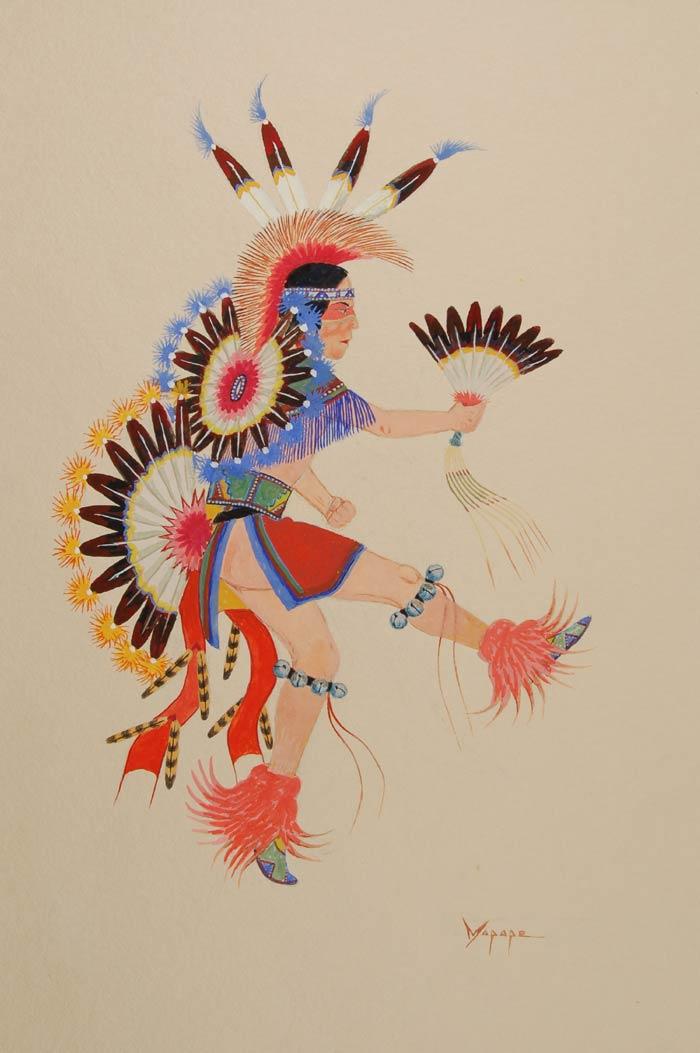 Fine Art Native American Paintings Native American