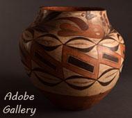 Laguna Pueblo Pottery - Adobe Gallery, Santa Fe