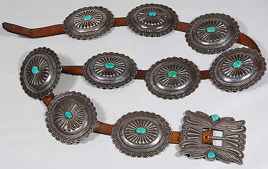 Navajo Nation Southwest Indian Jewelry 23987 Adobe