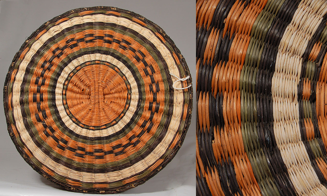 Hopi third mesa wicker groom s plaque southwest indian for Wicker meaning