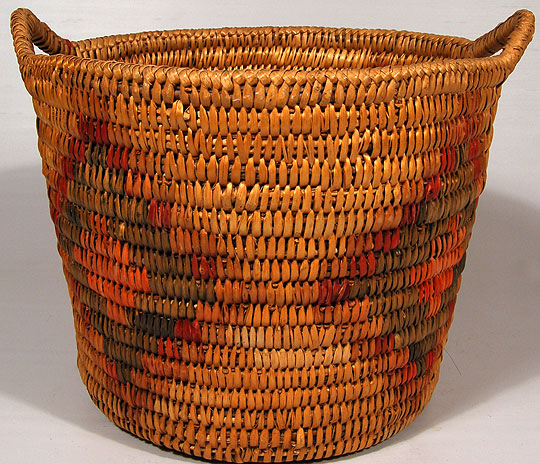 Jicarilla Apache Polychrome Basket Southwest Indian Baskets Jicarilla Apache Adobe Gallery