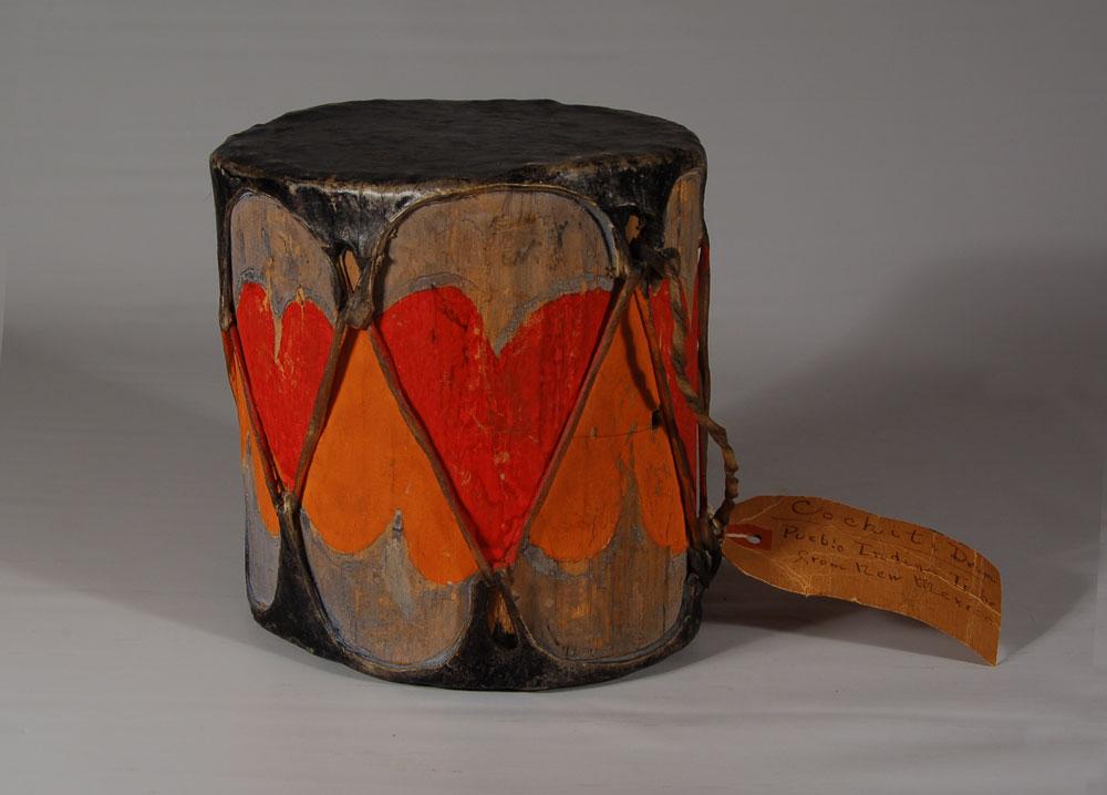 Other Fine Southwest Collectibles Cochiti Pueblo Drums Cochiti Pueblo Painted Historic