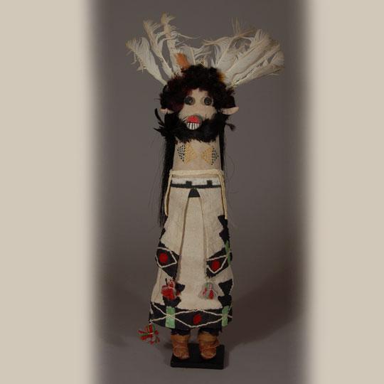 pueblo shalako katsina doll circa 1940s   adobe gallery santa fe