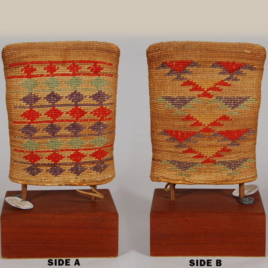 Nez Perce Corn Husk Bag From E I Couse Studio Adobe