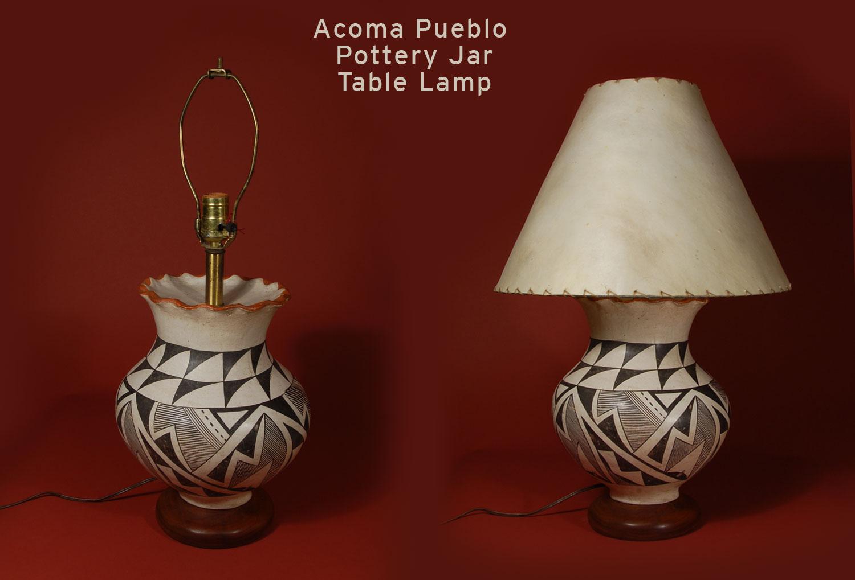 Southwest Indian Pottery Acoma Pueblo Contemporary