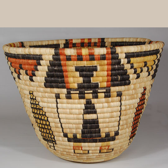 indian arts and crafts hopi second mesa pictorial basket southwest indian 4753