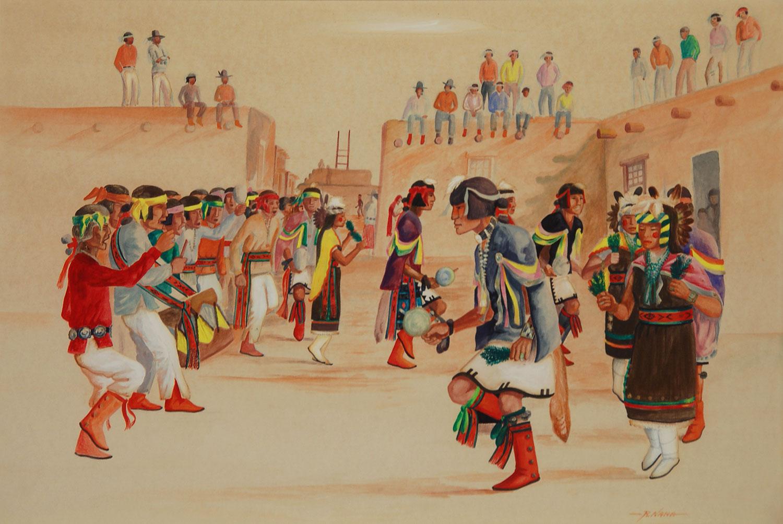 Fine Art   Native American Paintings   Native American ...  Hopi Drawings
