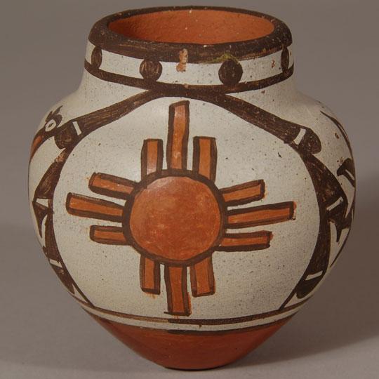 Southwest Indian Pottery Contemporary Zia Pueblo