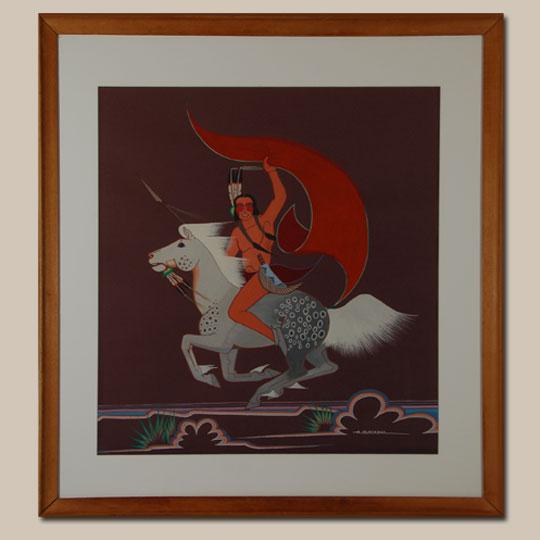 Fine Art Native American Paintings Native American Artwork Cheyenne Archie Blackowl