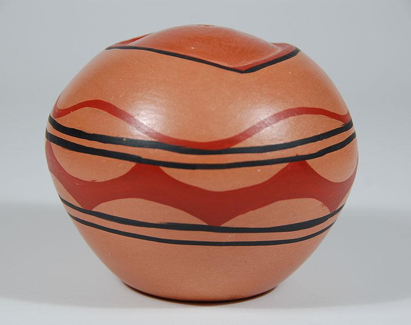 indian pottery jemez pueblo c3251t   adobe gallery santa fe