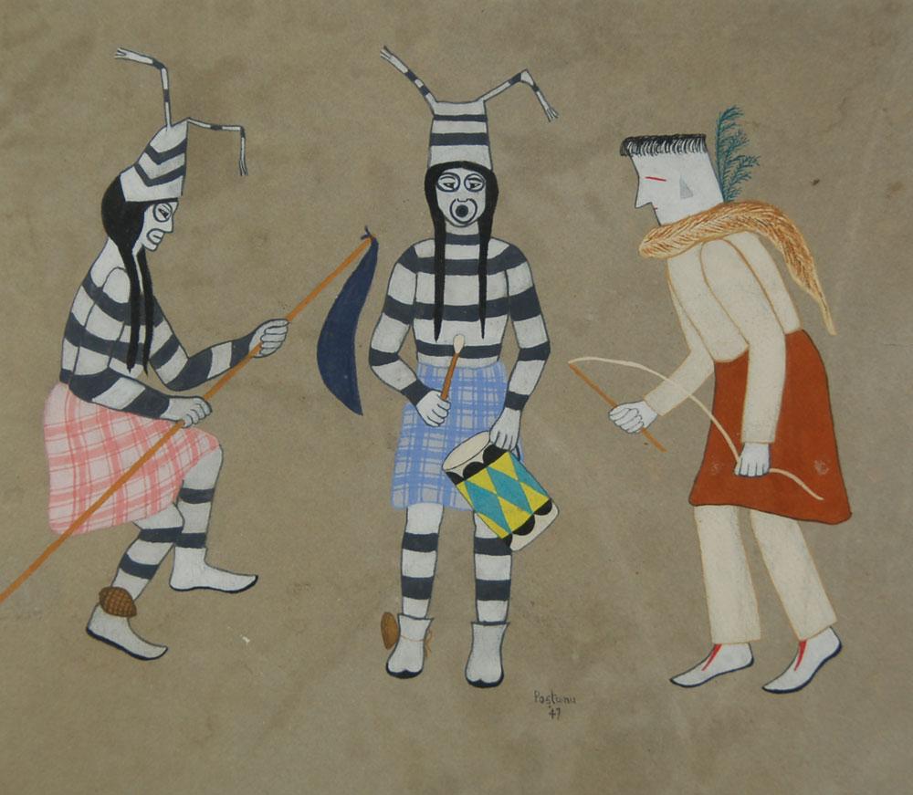 Fine Art Native American Paintings Ohkay Owingeh