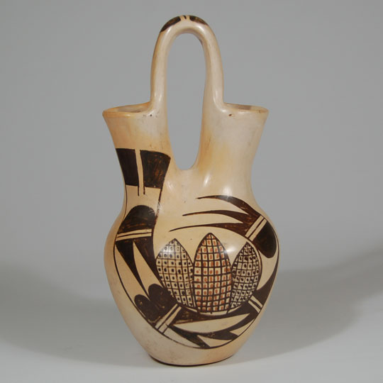 Hopi Polychrome Wedding Vessel Southwest Indian Pottery ...