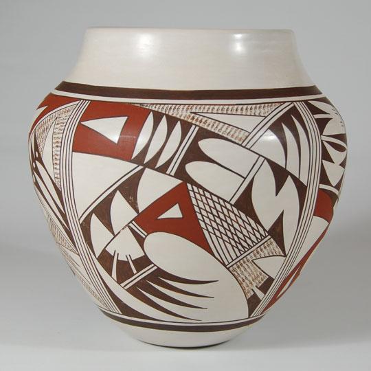 Hopi Polychrome Jar By Frog Woman Southwest Indian Pottery