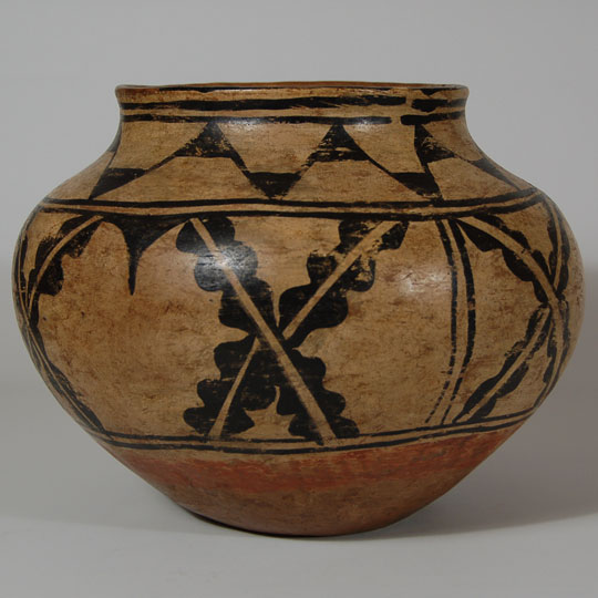 Cochiti Pueblo Historic Water Jar Southwest Indian Pottery