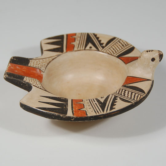Hopi Pottery Bird Design Ashtray  SOLD Hopi Pottery Designs
