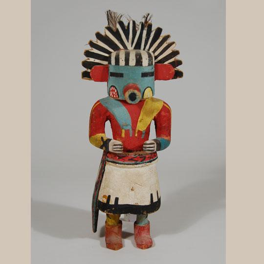 Hopi Talavai Morning Katsina Doll Circa 1940s