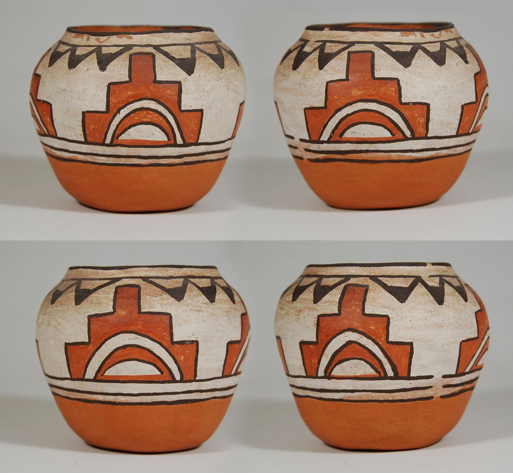 Southwest Indian Pottery Santa Ana Pueblo Contemporary