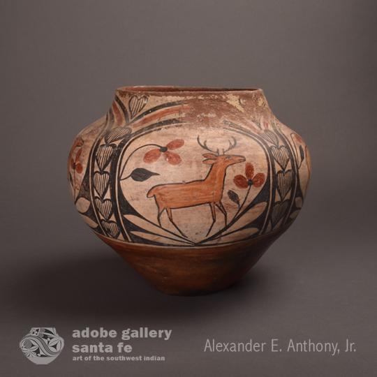 Historic Southwest Pottery C3328B - Adobe Gallery, Santa Fe