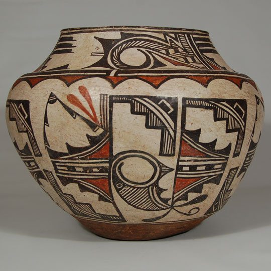 Southwest Indian Pottery Zuni Pueblo Historic Zuni