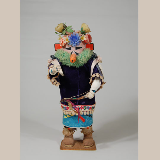 1985 KACHINAS OF THE ZUNI by Wright,Art by Duane Dishta,1st ED/DJ,Native America