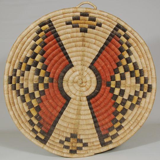 Southwest Indian Baskets Plaques Hopi Pueblo Weaver