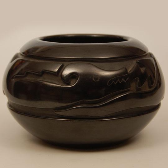 Southwest Indian Pottery Contemporary Santa Clara