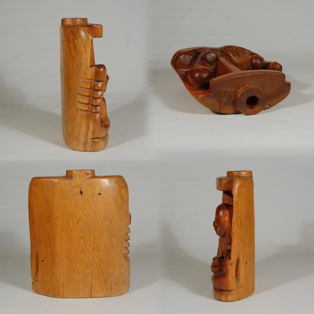 Western Sculpture Wood Hispanic Patrocinio Barela
