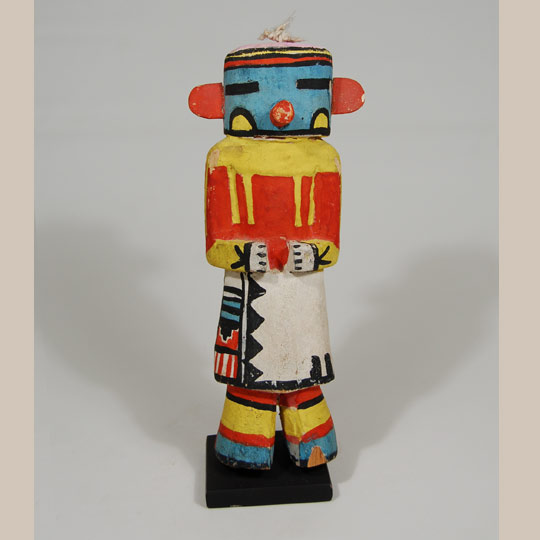 Traditional katsina dolls kachina hopi pueblo