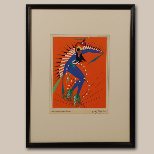 Fine art native american paintings native american for Cheyenne tribe arts and crafts