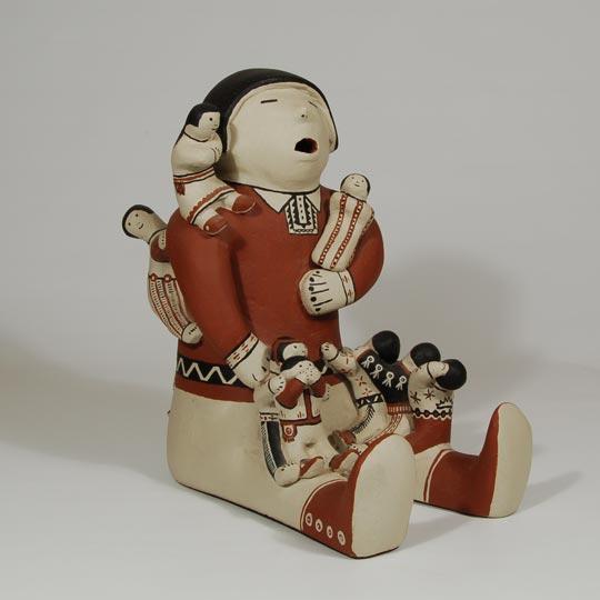 Southwest Indian Pottery Figurines Cochiti Pueblo