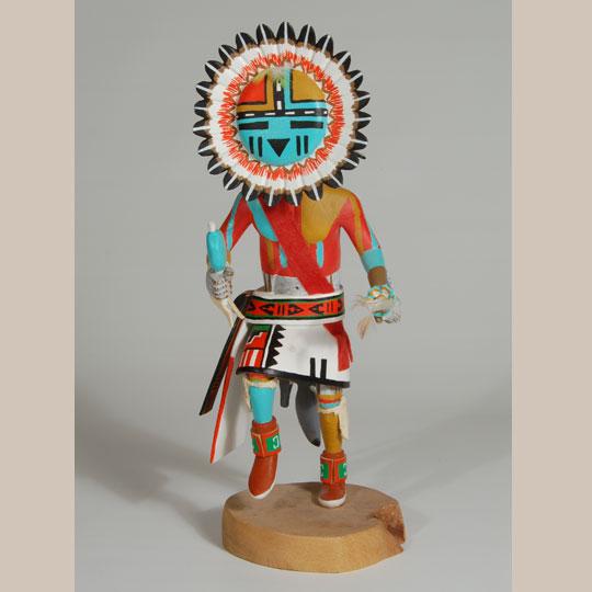 Traditional Indian Native Art Katsina Dolls