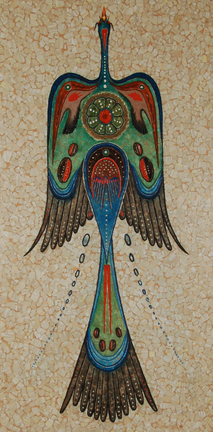 Peyote Bird Woody Crumbo Potawatomi Native American