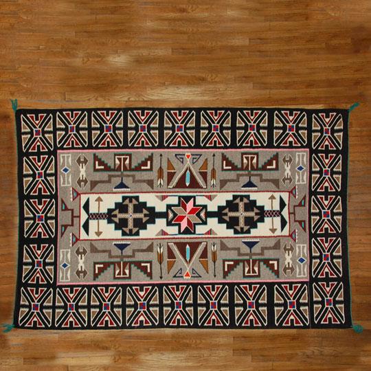 Native American Rugs In Santa Fe: Adobe Gallery, Santa Fe
