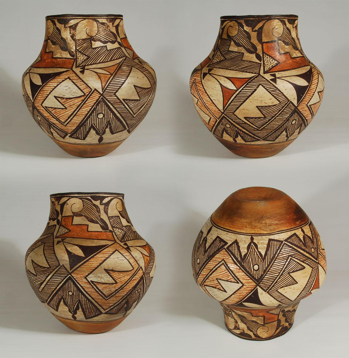 Historic Pueblo Pottery C3783b Adobe Gallery Santa Fe