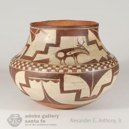 Historic Pueblo Pottery C4068A - Adobe Gallery, Santa Fe