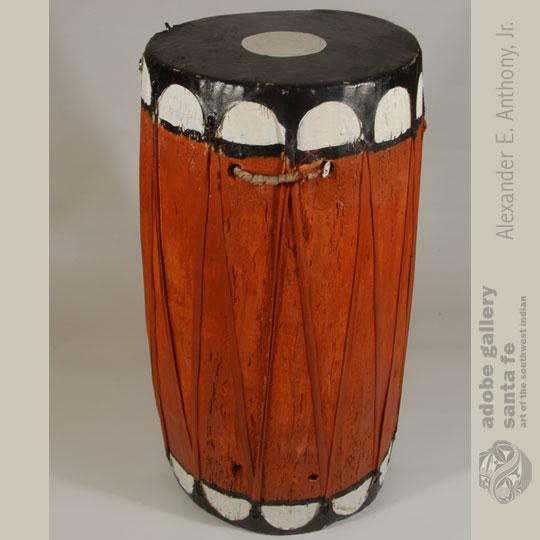 Pueblo Drums C4082f Adobe Gallery Santa Fe