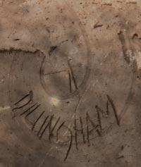 Rick Dillingham (1952-1994) signature