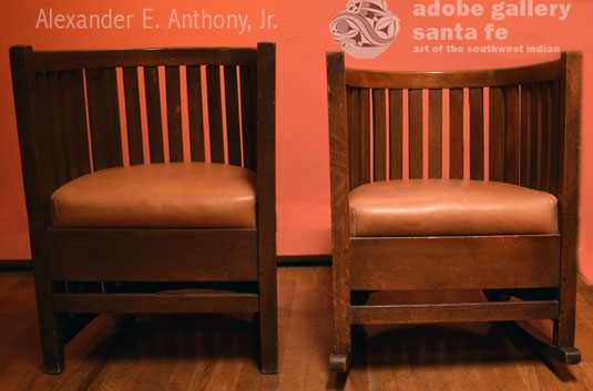 Alternate view of this pair of chairs.